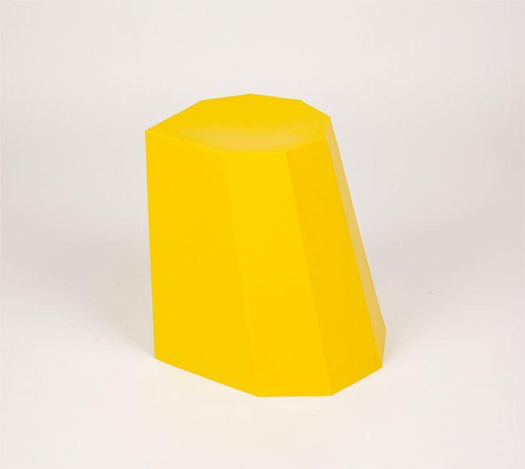 Image of Arnold Circus Stool Yellow