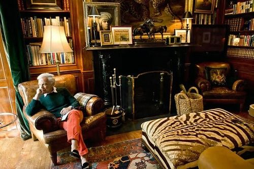 classicalbritain:    Ralph Lauren. The 'English Country House Look'.