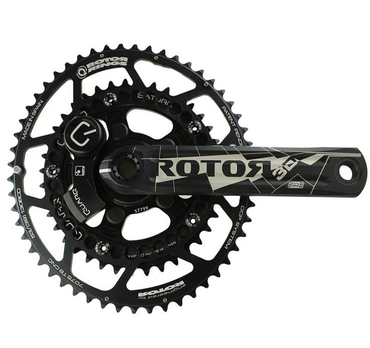 Quarq Rotor 3D PowerMeter for Triathlon and Road Bikes