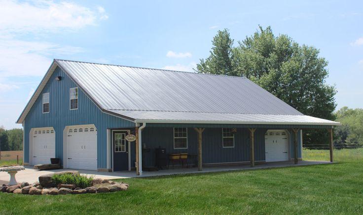 50 best pole barn ideas images on pinterest pole barn for Residential pole barn kits