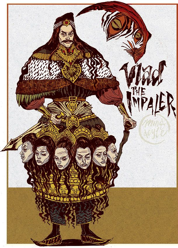 Vlad the Impaler by ~mysteryming on deviantART