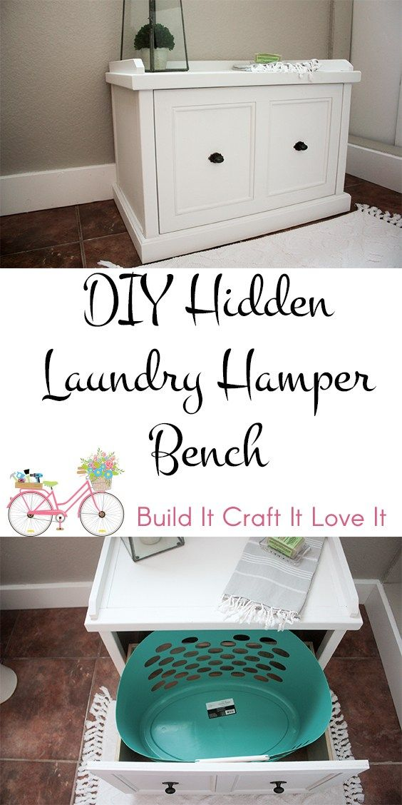 Terrific Diy Laundry Hamper Bench Laundry Hamper Woodworking Creativecarmelina Interior Chair Design Creativecarmelinacom