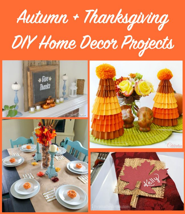 30 best images about thanksgiving on pinterest crafts for Thanksgiving home decorations pinterest