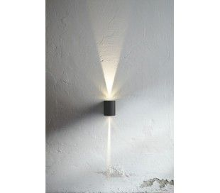 Nordlux Canto Væglampe 2 x 3W LED - Sort
