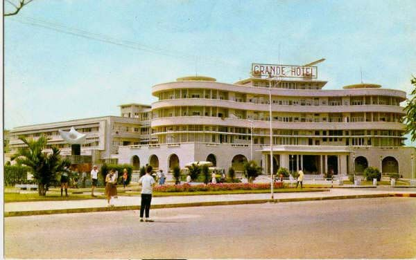 The Grande Hotel Beira was a luxury hotel in Beira, Mozambique that was open from 1952 to 1963. Its closure was a direct result of the Portuguese Colonial War, during which it became a refugee camp. Today the former hotel is still occupied by approximately 1,000 squatters.