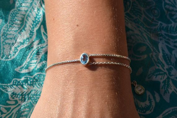 Matahari Bracelet with gemstone Sterling Silver 925 by lililuh