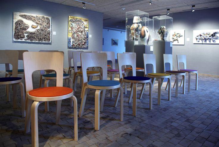 Fraster filt -  Sæder -  Museum Jorn - keramik -