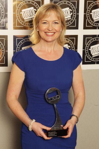 Carol Kirkwood at the TRIC Awards.  Blake Dress.  www.divacatwalk.com