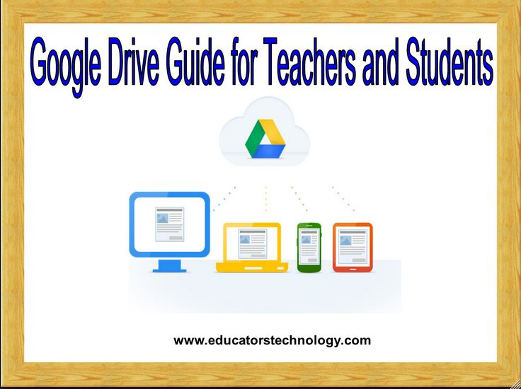 The Comprehensive Google Drive Guide for Teachers and Students