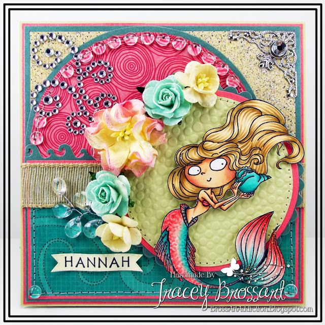 BrossARTaddiction: Inspired By Nature with Kraftin Kimmie Stamps!!