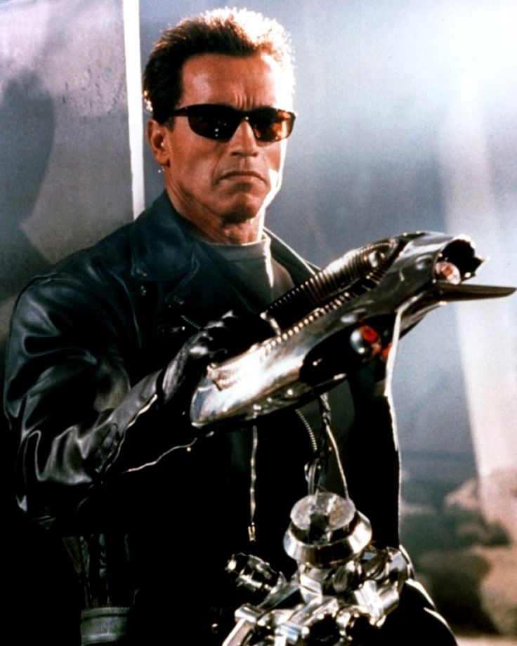 Arnold Schwarzenegger in the T2 3-D: Battle Across Time (1996) which eventually ended in 2012. #Terminator