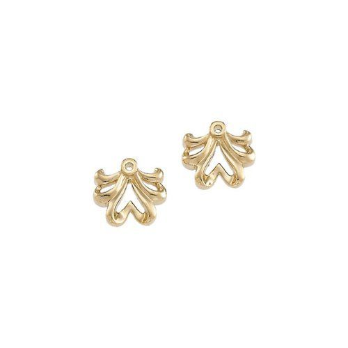 82129 18K Palladium White 10 X 11mm Semi-Polished Earring Jacket Enlightened Expressions. $208.98. 50963 STER ROSE GOLD PLATED SIZE 08.00 P STCKBLE FASH RG W/BAMBOO PTTRN
