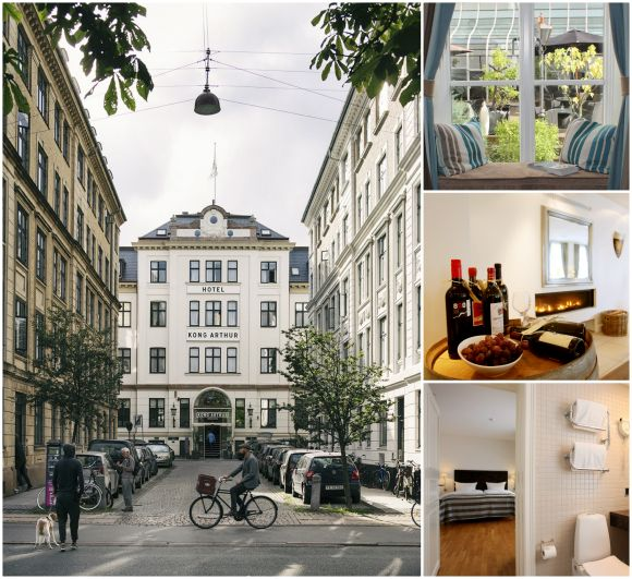 Hotel Kong Arthur in Copenhagen