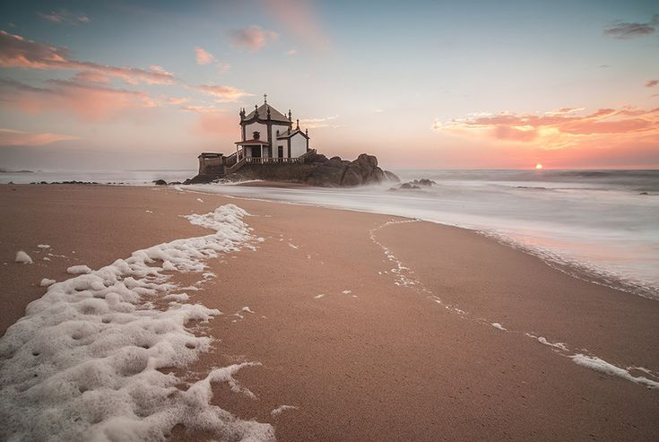 Miramar beach near Porto, Portugal considered one of the Best beaches in Europe - Marinha beach in Algarve - European Best Destinations 2015