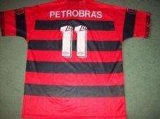 1994 1995 Flamengo No 11 Romario Adults XL Centenary Classic Football Shirt Camiseta Brazil