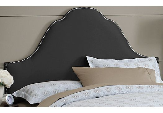 Shop for a Quiet Cove Black Queen Headboard at Rooms To Go. Find Headboards that will look great in your home and complement the rest of your furniture.