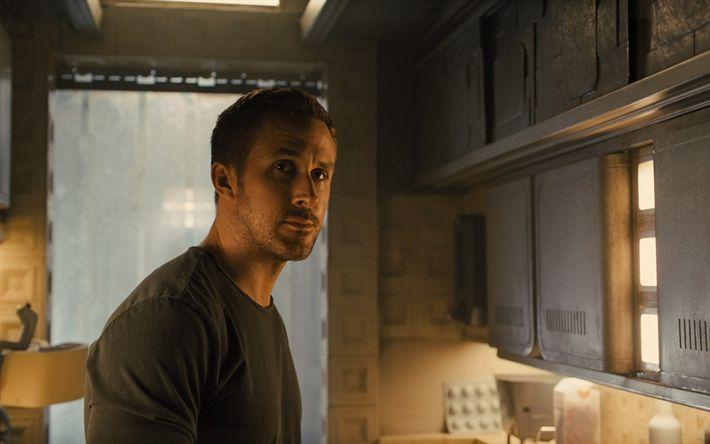 Hämta bilder Blade Runner 2049, 2017, Ryan Gosling, Kanadensisk skådespelare, nya filmer, affisch