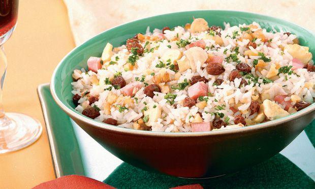 Arroz incrementado  Receitas deliciosas de arroz para Natal e Ano Novo - Culinária - MdeMulher - Ed. Abril