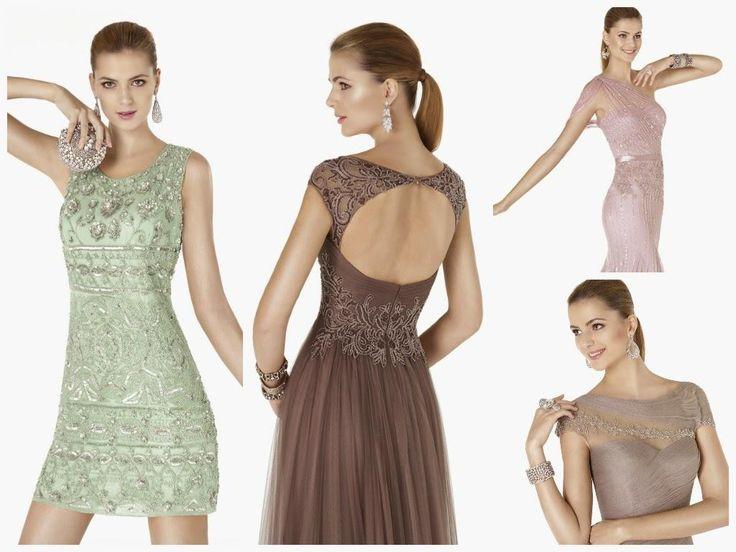 Pronovias: Avance 2015 de la colección de vestidos de fiesta.