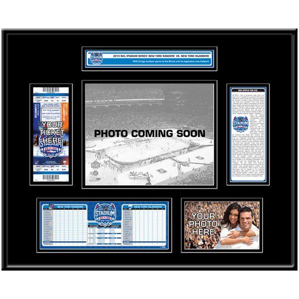 New York Islanders vs. New York Rangers 2014 NHL Stadium Series Ticket Frame - $149.99