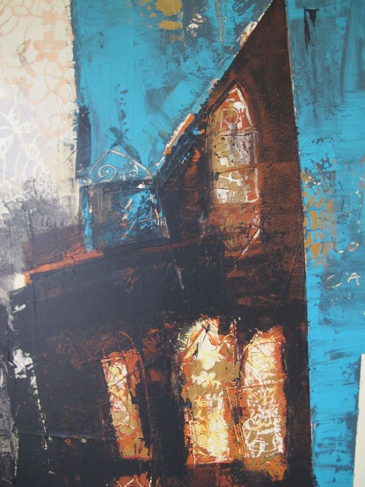 """""""love is my cathedral"""" painting"""