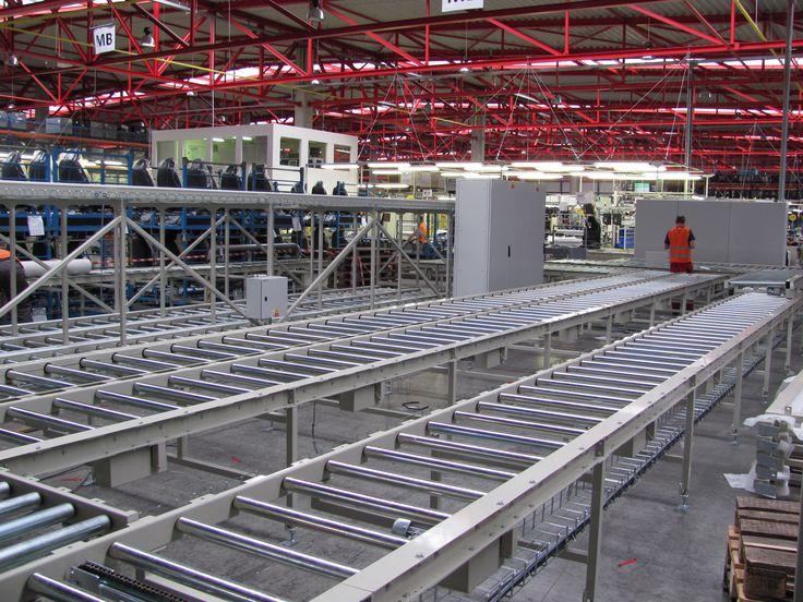Roller conveyors // Válečkové dopravníky