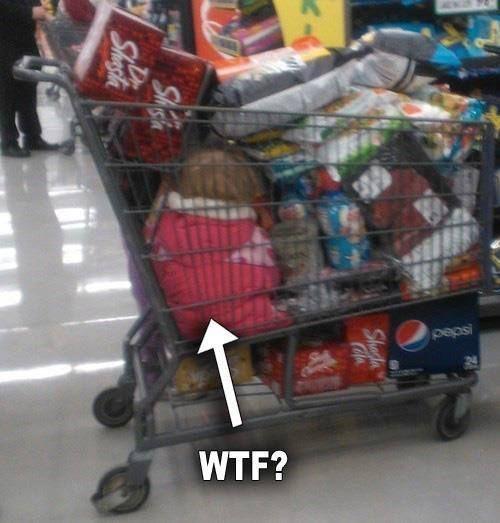 WTF?!  Walmart Moms are Crazy!