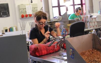 Becoming a glass craftsman experience