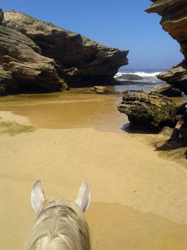 """On the Eastern Cape of the Sunshine Coast, """"the Adventure Province in South Africa"""" with Mkulu Kei Horse Trails & Riding Holidays."""