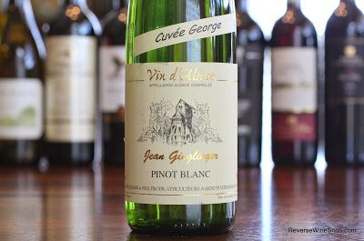 The Reverse Wine Snob: Domaine Jean Ginglinger Pinot Blanc Cuvée George 2011 - Elegant Alsace. Loaded with tons of tasty tangerine! http://www.reversewinesnob.com/2014/09/domaine-jean-ginglinger-pinot-blanc-cuvee-george.html #wine #winelover
