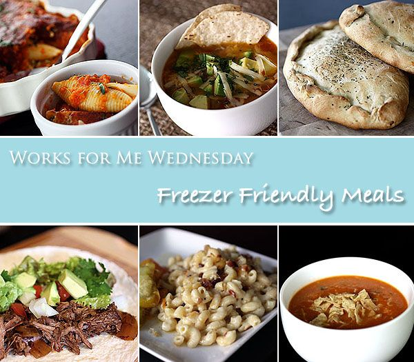 Freezer Friendly Meals (WFMW) | my kitchen addiction