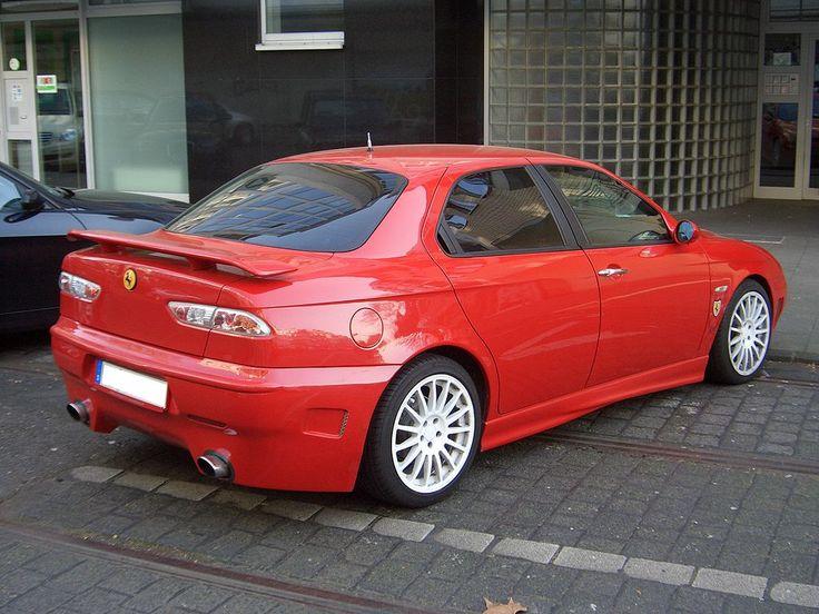 Alfa Romeo 156 Ferrari look tuning CARROZZERIA SCANNALIATO