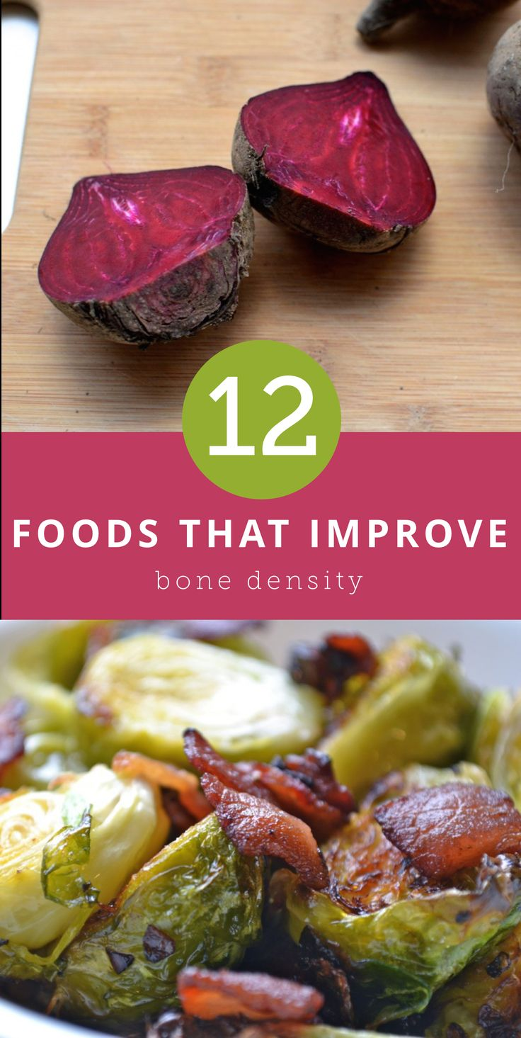 What to Eat to Improve Your Bone Density