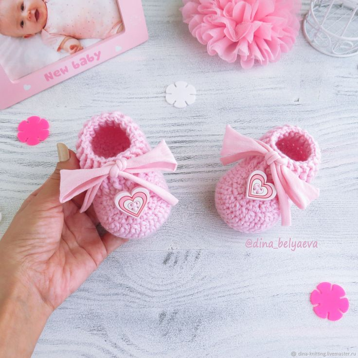 Buy knitted booties loafers for girls desks pink knitted booties - knitted booties