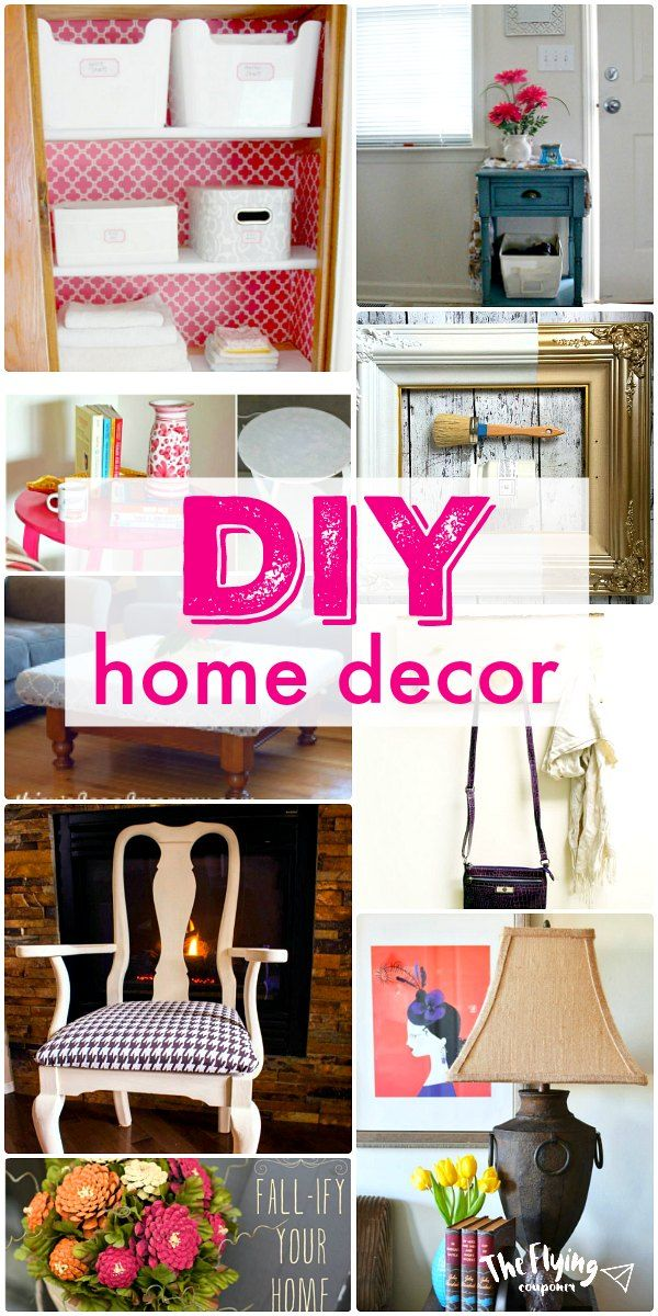 19 diy home decor projects easy upcycle and repurpose for Easy diy home decorations