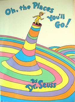 Oh, the Places New Moms Won't Go! (a parody on Dr. Suess's famous book)