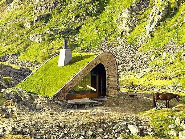 Bjellandsbu - Åkrafjorden kabin unik ditempat terpencil