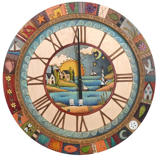 Images Round Wall Clock