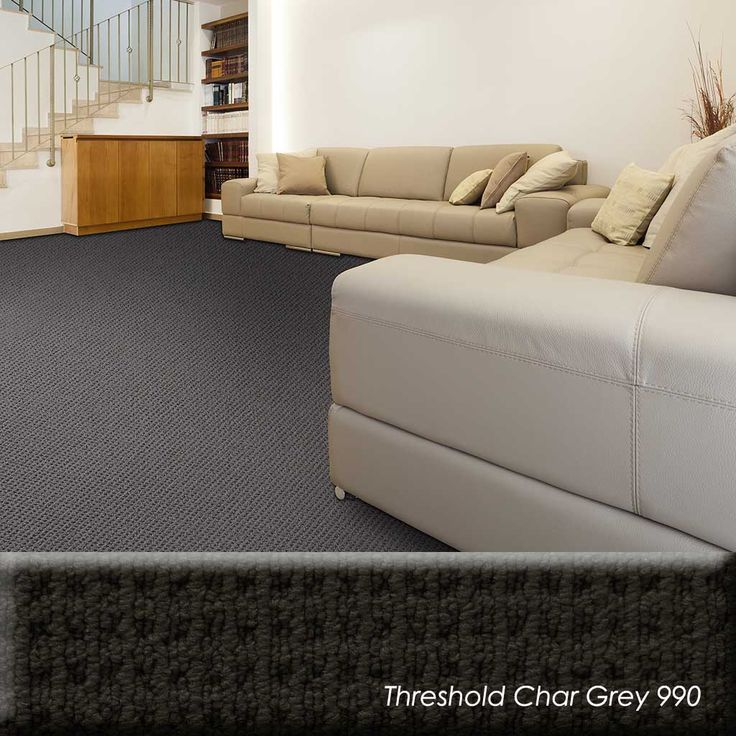 When it comes to texture retention, a nylon carpet like the Threshold holds up better under extreme conditions. The performance is far better than polyester. Nylon carpeting could be used in rooms in the home that receive high traffic or areas that could incur more grime and dirt from shoes.