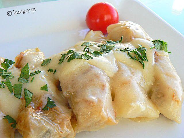 Kitchen Stori.es: Λαχανοντολμάδες Αυγολέμονο στη Γάστρα