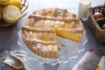 Ricetta Crostata alla crema di limoni