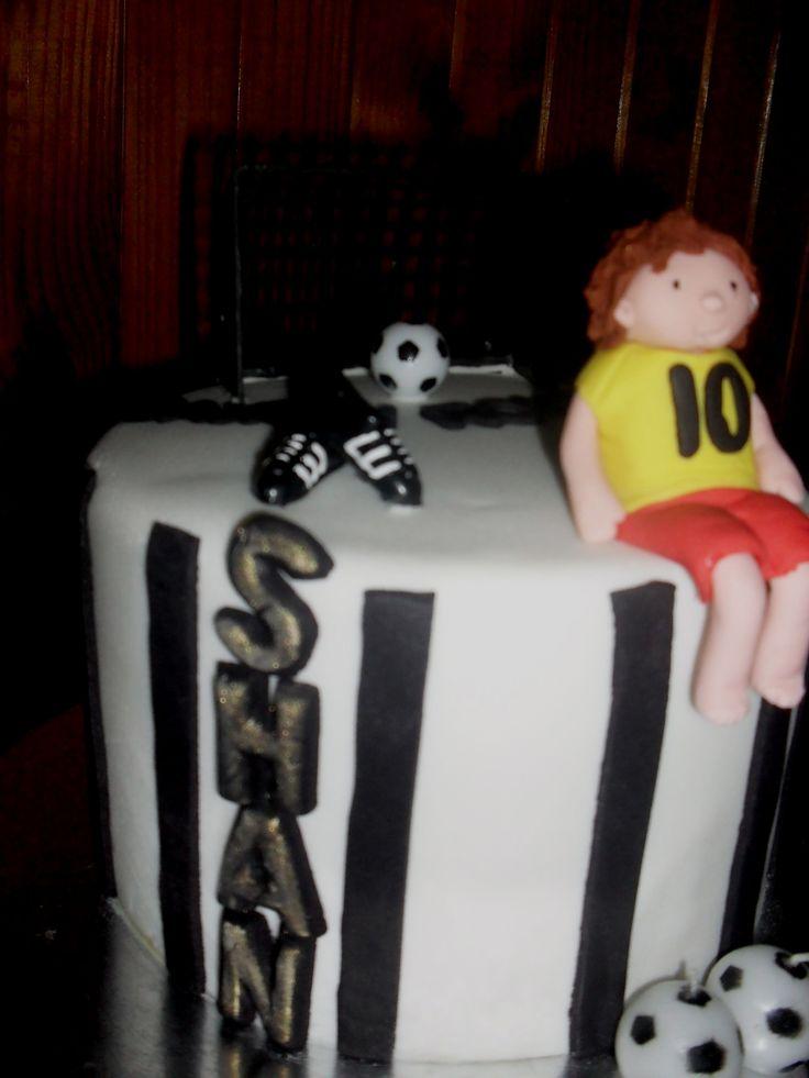 Soccer Birthday Cake