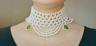 Tina's handicraft : how to make beads necklace