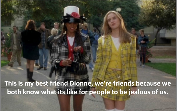 Clueless such a good movie...but that quote happens in a different scene juust sayin'