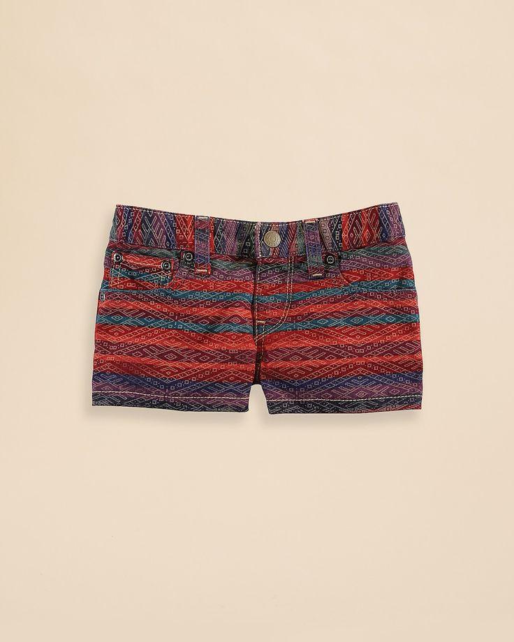 Ralph Lauren Childrenswear Girls' Denim Cut Off Shorts - Sizes 2-6X | Bloomingdale's