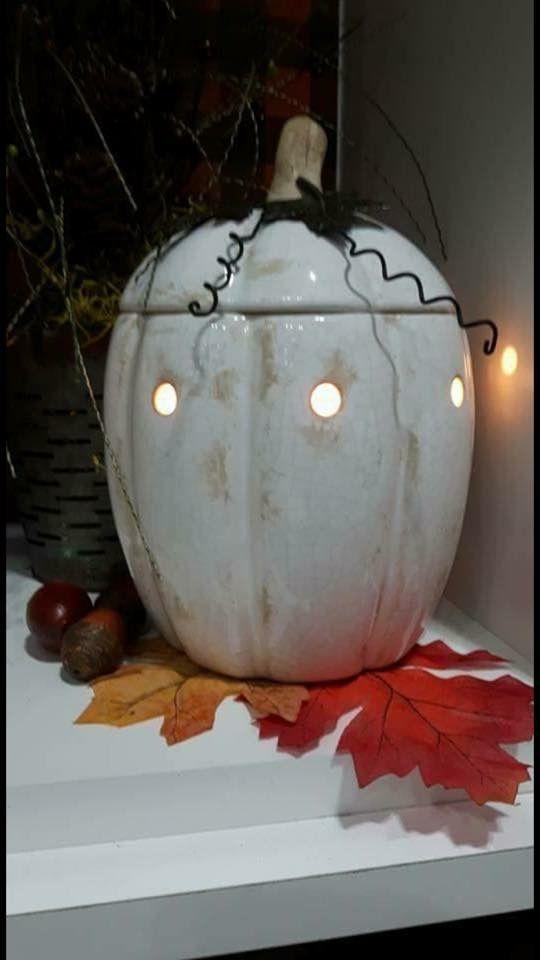 Rustic Pumpkin Warmer ❤️