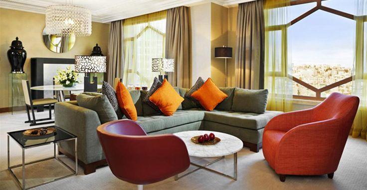 Penthouse Suite, Intercontinental Hotel, Amman, Jordan.