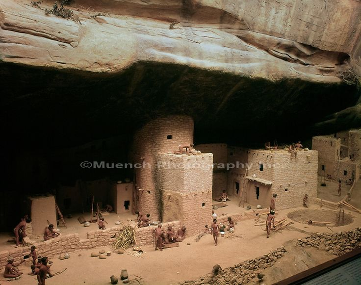 24 best images about let 39 s party native american indian for How to build a model pueblo house