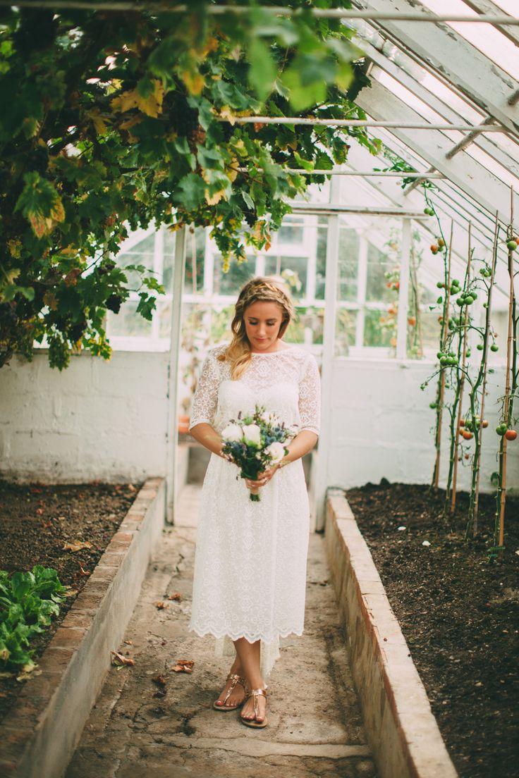 wedding dress from bridal house cornwall