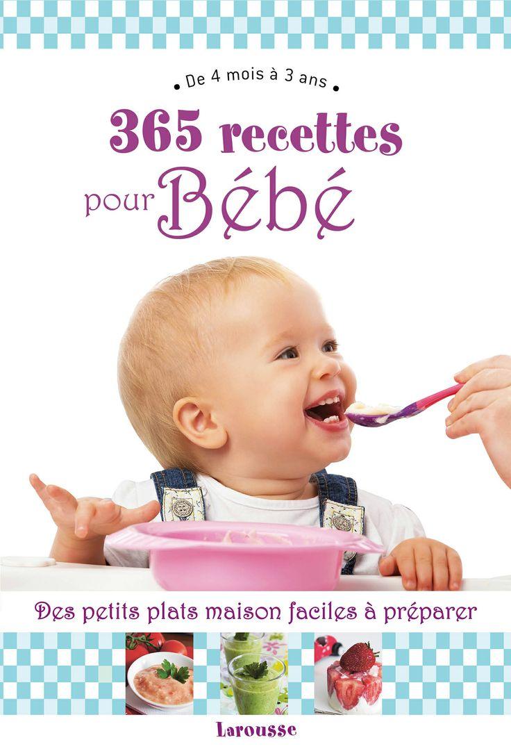 365 recettes pour bébé le livre de Cubes et Petits pois 365 french babyfood recipes